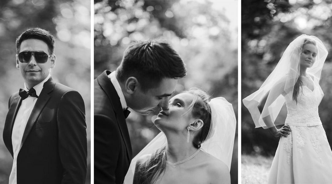 sesja fotograficzna dla pary młodej, fotografia czarno biała